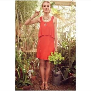 Maeve Red Dress from Anthropologie